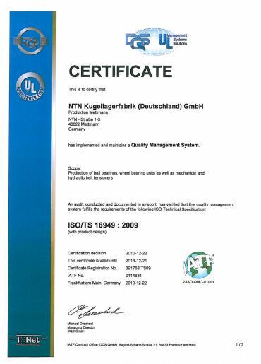 ISO/TS 16949:2009